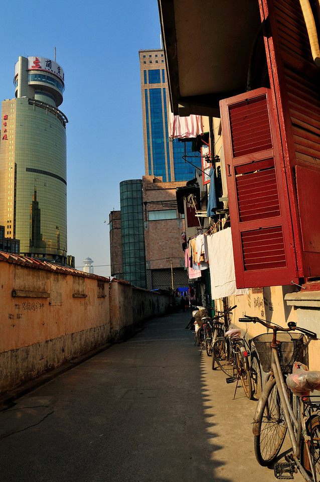 Old Residential Area,<br /> Shanghai, China