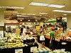 Supermarket in basement of department store along Orchard Road, the main shopping district in Singapore