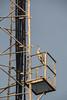 The radio mast