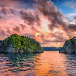 Sunset at raja Ampat
