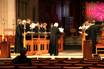 Taken By: Kimberly Marshall Choir Practice in Christchurch Cathedral