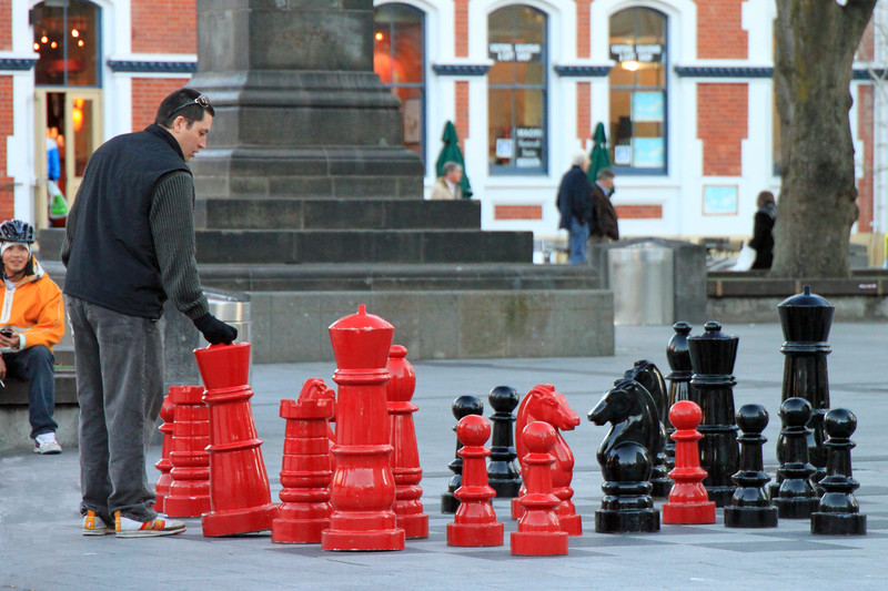 Taken By: Kimberly Marshall<br /> Chess in Christchurch