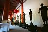 奈良西京藥師寺佛陀十大弟子以及佛足跡石
