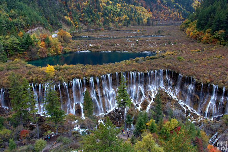 诺日朗瀑布(NuoRiLang Fall, Jiuzhai, Sichuan, China)