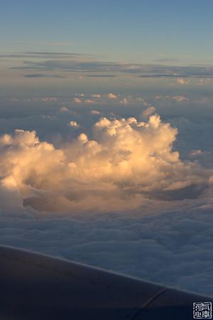 2008 China Trip, fly to Lasha(天堂之路)