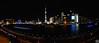 上海夜色, 摄于外滩18号(Shanghai Pu Dong night sky)