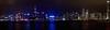 维多利亚湾夜色, 摄于星光大道(Victoria Bay at night, Hongkong, China)