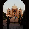 First view of Humayun's Tomb.