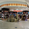 Duty free store (one of many) in the Dubai airport. I just liked the big camel in front.