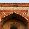 The entrance gate to Humayun's Tomb.