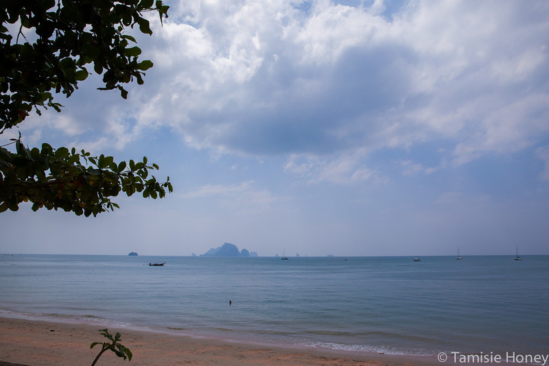 From Krabi's shore