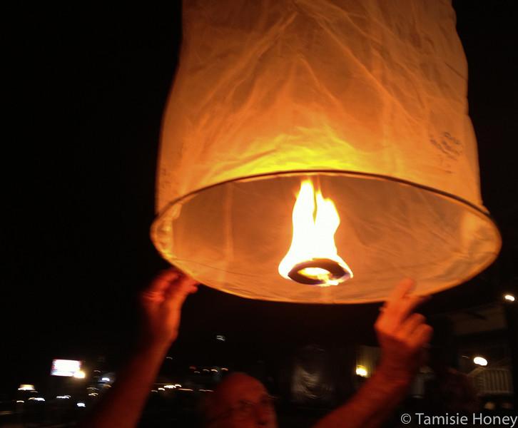 Fire powered wishing
