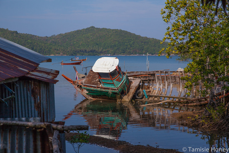 Tsunami Damage, Muslim Fishing Village, Ko Yao Yai