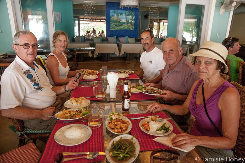 Lunch on Krabi