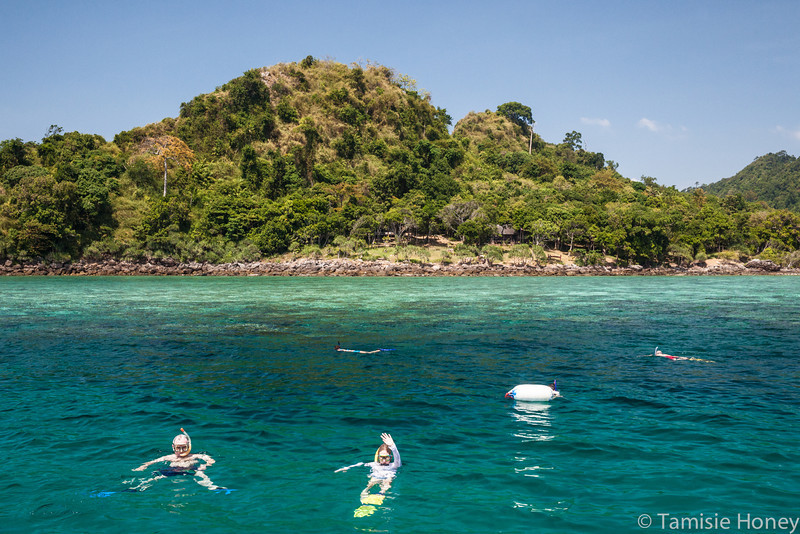 Snorkeling at Nature Reserve, Ko Nga Island