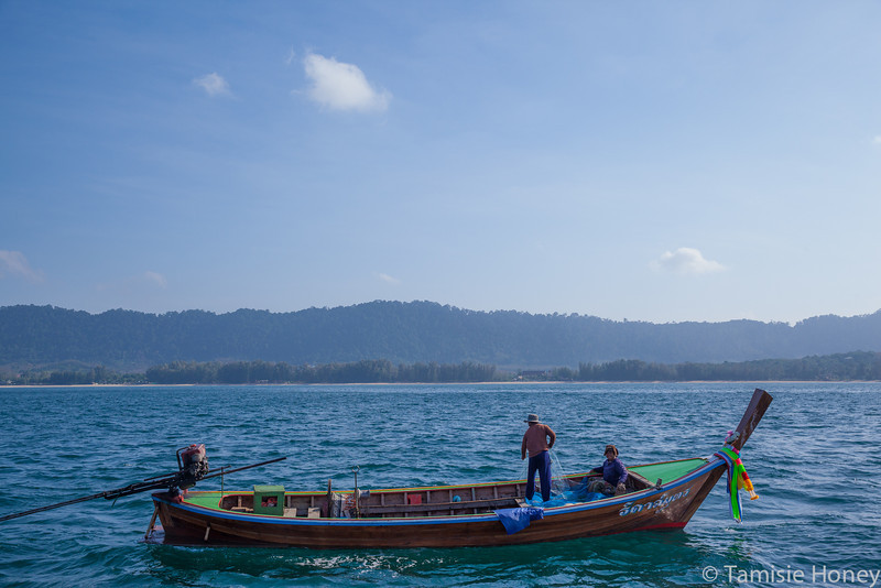 Longtail Fisherfolk near Ko Lanta