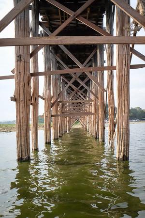 Under the U Bein Bridge