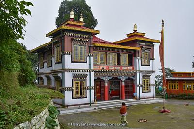 Bhutia Busty Gompa, buddhist monastery, Darjeeling