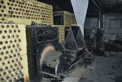 heaters at Takvar Tea Factory