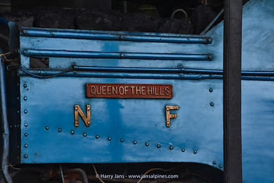 Good name for this old steam locomotive