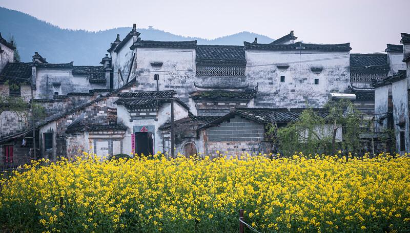 Anhui - este egy faluban