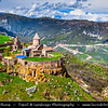 Armenia - Deep Valleys & Rugged Peaks of Vayots Dzor Mountains - Fortified Monastery Complex of Tatev - Տաթև - 9th century Armenian monastery
