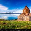 Armenia - Sevanavank - Սևանավանք - Sevan Monastery - Monastic complex located on a peninsula at the northwestern shore of Lake Sevan in the Gegharkunik Province