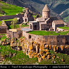 Armenia - Deep Valleys & Rugged Peaks of Vayots Dzor Mountains - Fortified Monastery Complex of Tatev - Տաթև - 9th century Armenian monastery