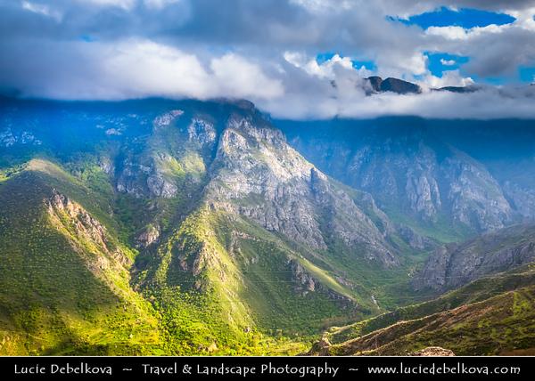 Armenia - Deep Valleys & Rugged Peaks of Vayots Dzor Mountains around Fortified Monastery Complex of Tatev