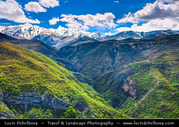Armenia - Mountains of Vayots Dzor - Deep Valleys and Rugged Peaks on the way to Tatev Monastery