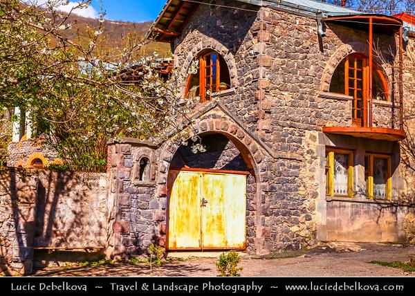 Armenia - Goris - Գորիս - Gerusi - Gorus - Goraik - Gores - Hin Kores - Zangizour - Kyuryus - City in the Syunik Marz - City famous for the medieval cave-dwellings carved out of the soft rock