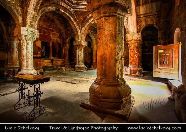 Armenia - Haghartsin Monastery near Dilijan, Northern Armenia - 13th-century monastery complex featuring 3 churches with unique stone carvings & garden