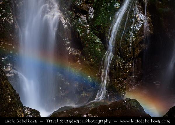 Armenia - Shaki - Sakeh Waterfall - Շաքիի ջրվեժ - Armenia's highest waterfall, with height of 18 m - Located in Syunik Province, flowing over rocky terrain in scenic surroundings