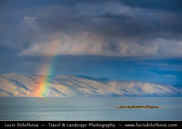 Armenia - Lake Sevan - Սևանա լիճ - Sevana Lich - Largest lake in Armenia & one of the largest high-altitude lakes in the world