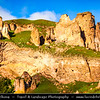 Armenia - Goris - Գորիս - Gerusi - Gorus - Goraik - Gores - Hin Kores - Zangizour - Kyuryus - City in the Syunik Marz - City famous for the medieval cave-dwellings carved out of the soft rock