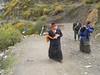 Villagers near Dregong monastery, Tibet
