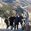 Mike, Bojan & Alexandre at the Great Wall.