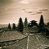 Rooftops in the Pura Besakih temple complex,Bali, Indonesia
