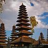 Pura Taman Ayun temple in Mengwi, Bali, Indonesia