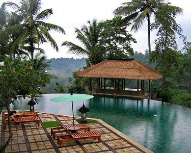 Amandari's swimming pool