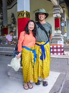 Dressed for the Temple