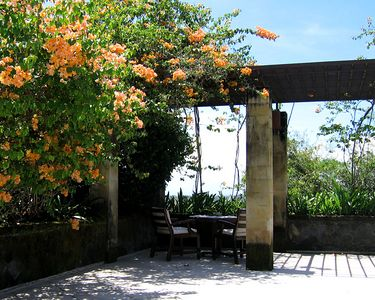 All of the Aman resorts we have stayed at have lots of private areas for relaxing or dining.