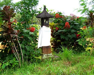 Temple for offerings to the Rice Goddess