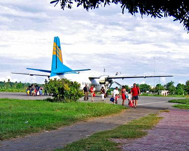 This was the plane we flew to Sumbawa in