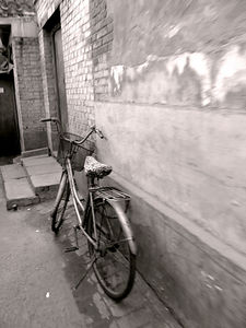 Bike parked in Hutong