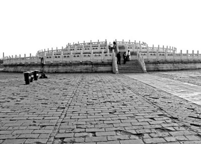 The Temple of Heaven, literally the Altar of Heaven is situated in south eastern urban Beijing, in Xuanwu District. Construction of the Temple began in 1420, and was thereafter visited by all subsequent Emperors of the Ming and Qing dynasties. It is a temple of Taoism.