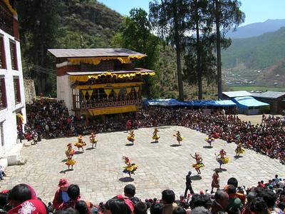 Tsechu Festival © Chris Leahy