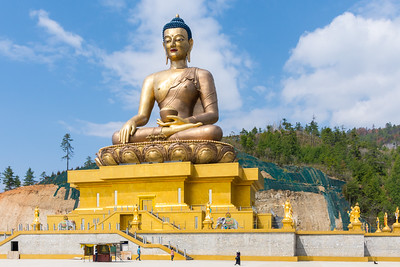 The world's tallest seated Buddha
