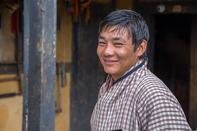 Tachi, our Bhutanese guide.