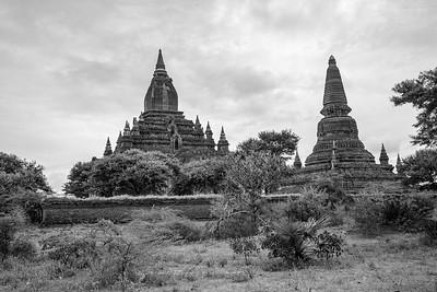 Birmanie n&b
